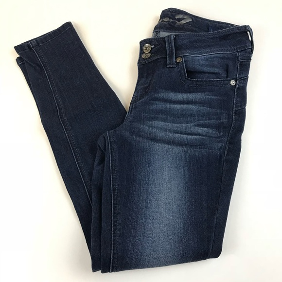 Seven7 Denim - Seven7 Womens Jeans Size 2 Skinny Leg Legging Dark